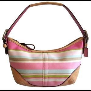 Coach Soho Hampton striped purse 1884